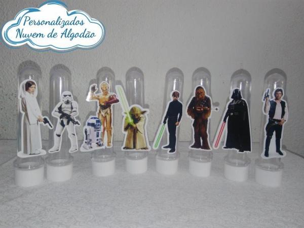 Aplique de tubete Star Wars-Aplique de tubete Star Wars  Fazemos em qualquer tema. Envie nome e idade para personalização e