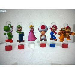 Aplique de tubete Super Mario Bros