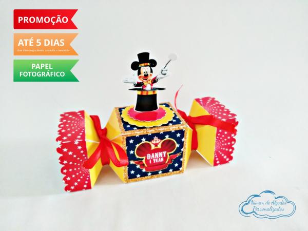 Caixa bala inteira Circo do Mickey-Caixa bala inteira Circo do Mickey  Fazemos todos os temas e cores.  Na hora do seu pedido infor