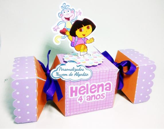 Caixa bala inteira Dora Aventureira-Caixa bala inteira Dora Aventureira Fazemos todos os temas e cores.  Na hora do seu pedido inform