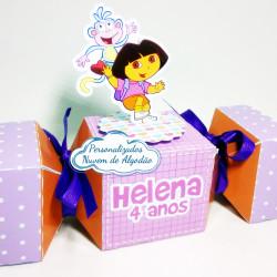 Caixa bala inteira Dora Aventureira