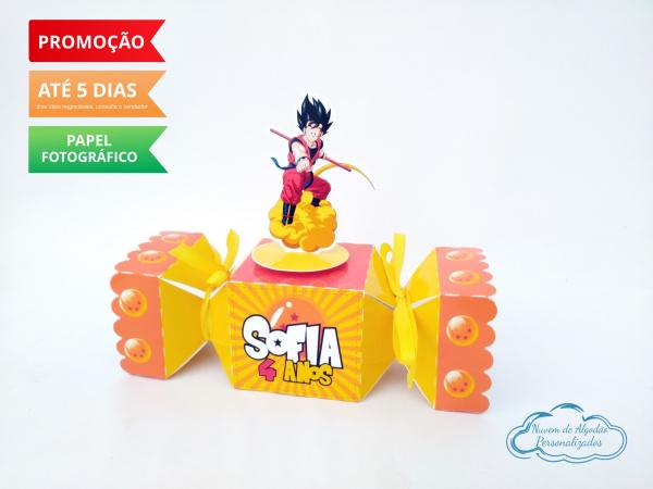 Caixa bala inteira Dragon Ball Z-Caixa bala inteira Dragon Ball Z Fazemos todos os temas e cores.  Na hora do seu pedido informe o