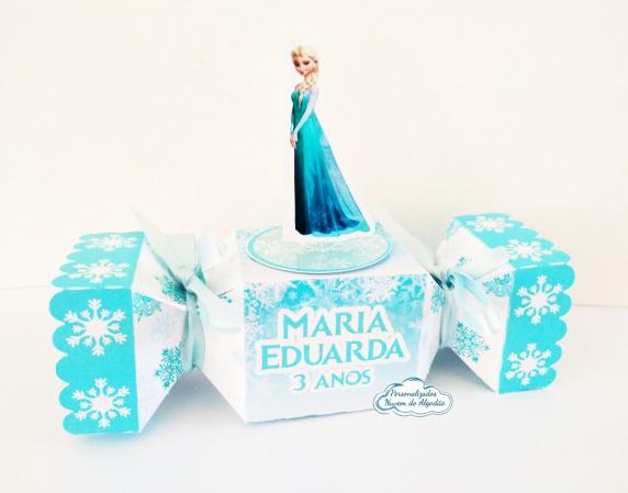 Caixa bala inteira Frozen-Caixa bala inteira Frozen Fazemos todos os temas e cores.  Na hora do seu pedido informe os dados