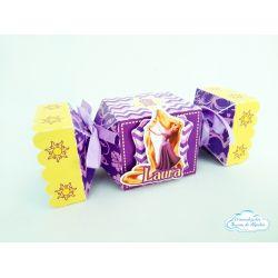 Caixa bala inteira Rapunzel