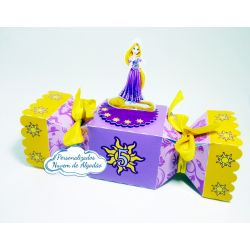Caixa bala inteira Rapunzel - Enrolados