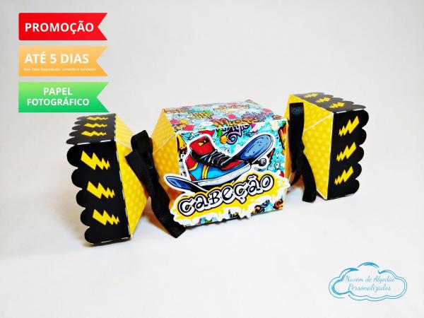 Caixa bala inteira Skate-Caixa bala inteira Skate Fazemos todos os temas e cores.  Na hora do seu pedido informe os dados