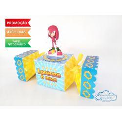 Caixa bala inteira Sonic - Knuckels