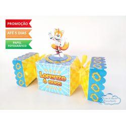 Caixa bala inteira Sonic - Tails