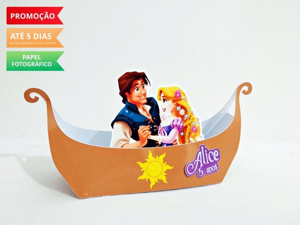 Caixa barco enrolados - Rapunzel-Caixa barco enrolados - Rapunzel  Fazemos todos os temas  Na hora do seu pedido informe os dados