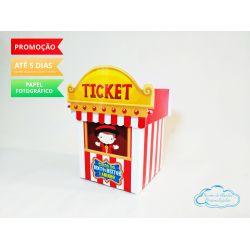 Caixa bilheteria Circo