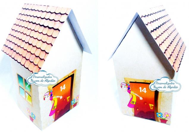 Caixa casinha Vila do Chaves-Caixa casinha Vila do Chaves  Fazemos todos os temas e cores.  Na hora do seu pedido informe os