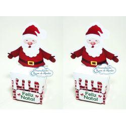 Caixa chaminé Natal