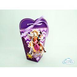 Caixa coração Enrolados - Rapunzel