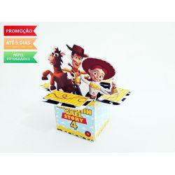 Caixa cubo com abas Toy Story