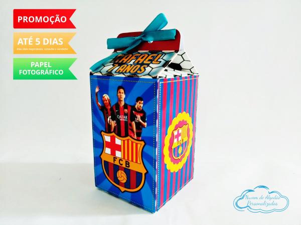 Caixa milk Barcelona-Caixa milk Barcelona Fazemos em qualquer tema. Envie nome e idade para personalização.  - Prod