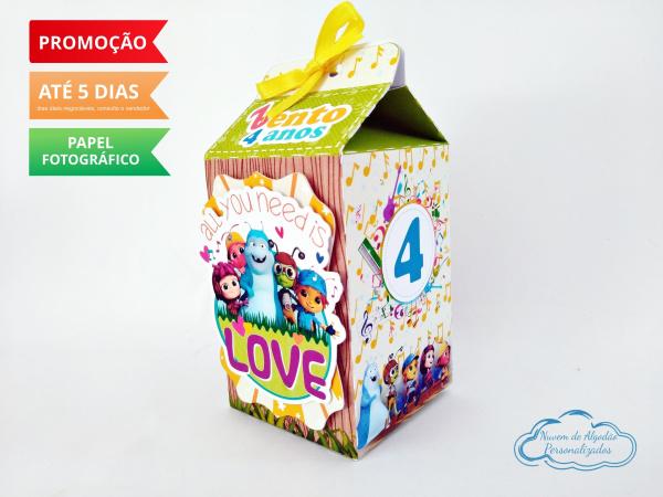 Caixa milk Beat bugs-Caixa milk Beat bugs Fazemos em qualquer tema. Envie nome e idade para personalização.  - Prod