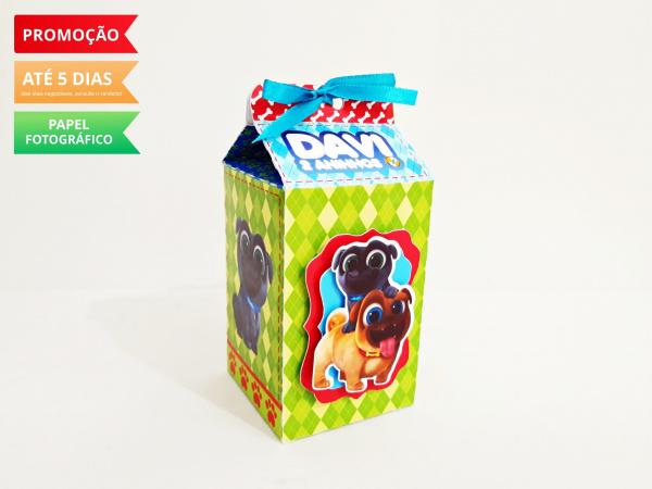 Caixa milk Bingo e Rolly-Caixa milk Bingo e Rolly Fazemos em qualquer tema. Envie nome e idade para personalização.  -