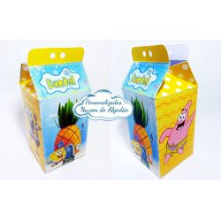 Caixa milk Bob Esponja