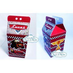 Caixa milk Carros