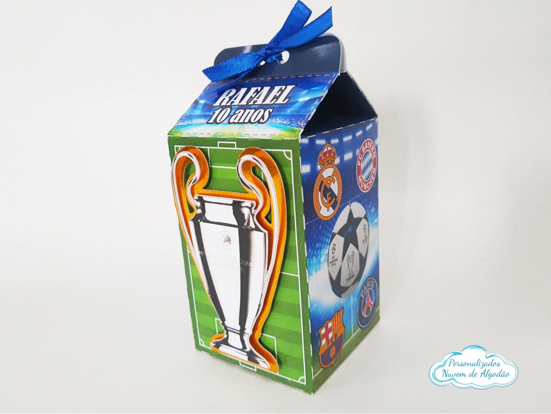 Nuvem de algodão personalizados - Caixa milk Champions League