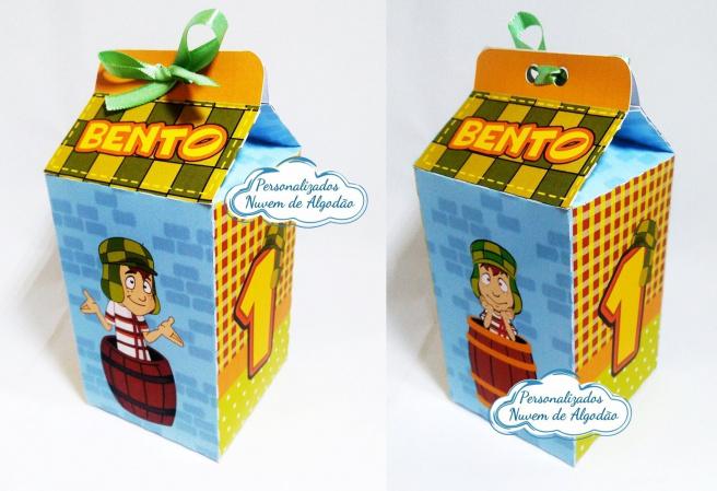 Caixa milk Chaves-Caixa milk Chaves Fazemos em qualquer tema. Envie nome e idade para personalização.  - Produto