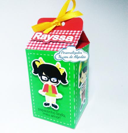 Caixa milk Chiquinha-Caixa milk Chiquinha Fazemos em qualquer tema. Envie nome e idade para personalização.  - Prod