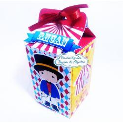 Caixa milk Circo