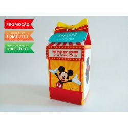Caixa milk Circo do Mickey Mouse