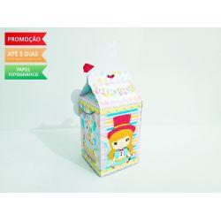 Caixa milk Circo Menina Domadora