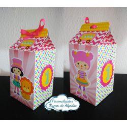 Caixa milk Circo Menina Rosa