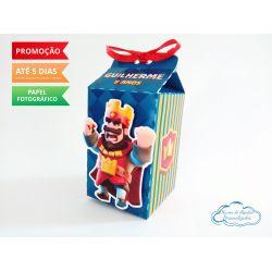 Caixa milk Clash Royale Vermelho