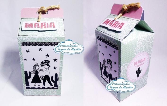 Caixa milk Cordel Encantado-Caixa milk Cordel Encantado Fazemos em qualquer tema. Envie nome e idade para personalização.