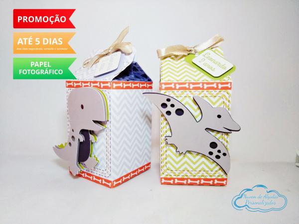 Caixa milk Dinossauros-Caixa milk Dinossauros Fazemos em qualquer tema. Envie nome e idade para personalização.  - Pr