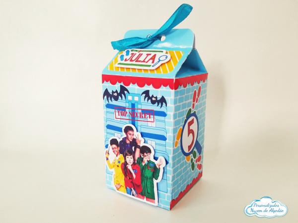 Caixa milk DPA - quarteto-Caixa milk DPA - quarteto  Fazemos em qualquer tema. Envie nome e idade para personalização.