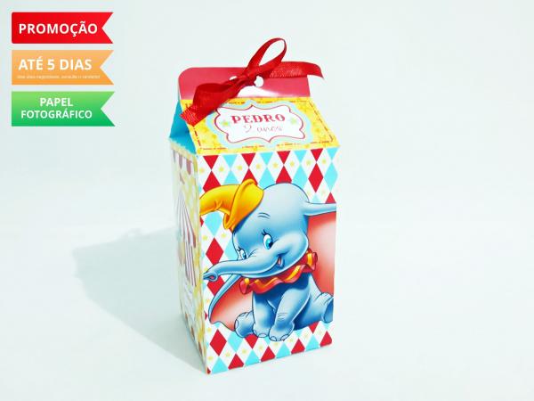 Caixa milk Dumbo-Caixa milk Dumbo Fazemos em qualquer tema. Envie nome e idade para personalização.  - Produto