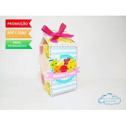 Caixa milk Feira frutinhas
