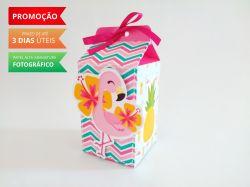 Caixa milk Flamingo e Abacaxi