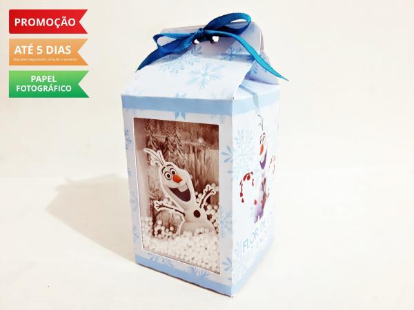 Caixa milk Frozen 2 - Olaf-Caixa milk Frozen 2 - Olaf com visor Fazemos em qualquer tema. Envie nome e idade para personaliza