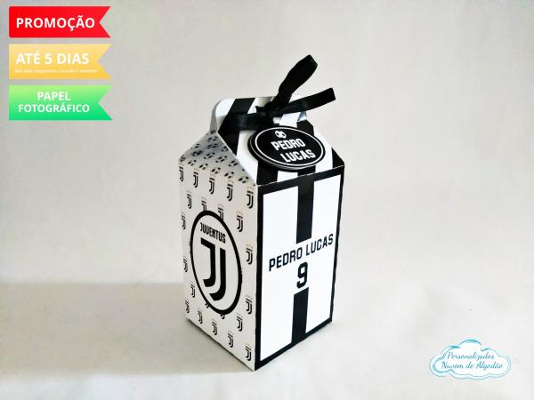 Caixa milk Juventus-Caixa milk Juventus Fazemos em qualquer tema. Envie nome e idade para personalização.  - Produ