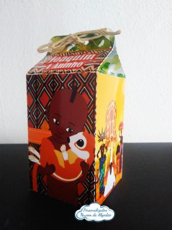 Caixa milk Kiriku-Caixa milk Kiriku Fazemos em qualquer tema. Envie nome e idade para personalização.  - Produto