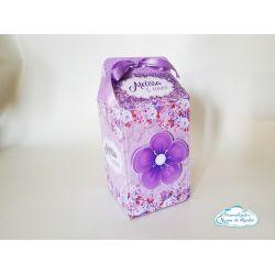 Caixa milk Lilas