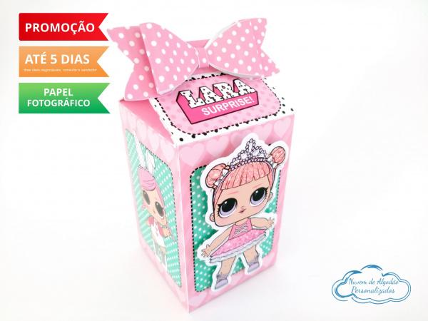 Caixa milk Lol Surprise-Caixa milk Lol Surprise Fazemos em qualquer tema. Envie nome e idade para personalização.  - P