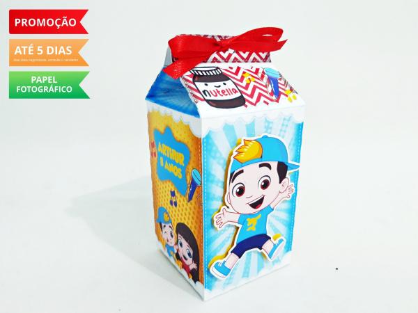 Caixa milk Luccas Neto-Caixa milk Luccas Neto Fazemos em qualquer tema. Envie nome e idade para personalização.  - Pr