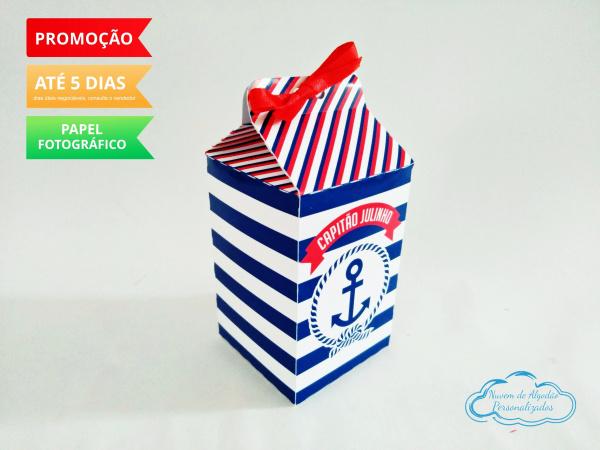 Caixa milk Marinheiro-Caixa milk Marinheiro Fazemos em qualquer tema. Envie nome e idade para personalização.  - Pro