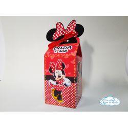 Caixa milk Minnie Vermelha