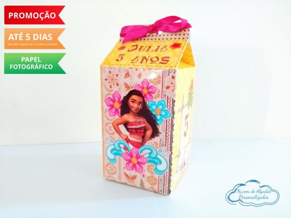 Caixa milk Moana-Caixa milk Moana Fazemos em qualquer tema. Envie nome e idade para personalização.  - Produto