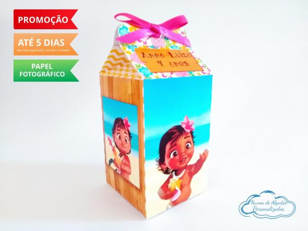 Caixa milk Moana Baby-Caixa milk Moana Baby Fazemos em qualquer tema. Envie nome e idade para personalização.  - Pro