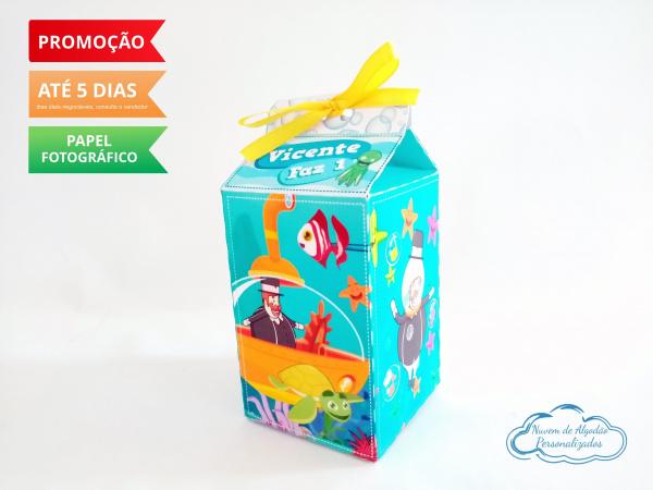 Caixa milk Mundo bita fundo do mar-Caixa milk Mundo bita fundo do mar Fazemos em qualquer tema. Envie nome e idade para personalizaç