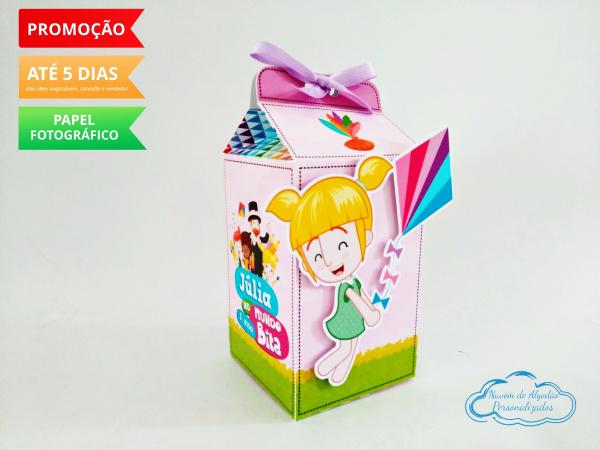 Caixa milk Mundo bita menina-Caixa milk Mundo bita menina Fazemos em qualquer tema. Envie nome e idade para personalização.