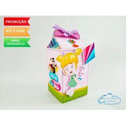 Caixa milk Mundo bita menina